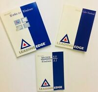 Leading Edge Microsoft Works For Windows 3.1 MS DOS 366SL Color Notebook Manuals