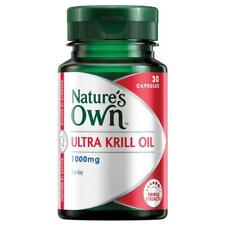 Natures Own Ultra Krill Oil 1622 1000mg Capsules 30