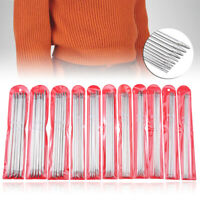 55Pcs 20cm Stainless Steel Knitting Needles Double Pointed Straight Sweater Kit