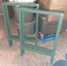 Vintage Industrial Table Legs Steel Workbench Desk Kitchen Salvage Steam Punk
