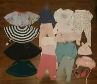 *F*A*B*Designer Baby Girl Clothes Bundle *6-9 Months*