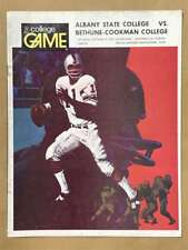 Albany State Bethune-Cookman COLLEGE FOOTBALL PROGRAM - 1974 - EX