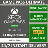 XBOX LIVE 14 Day GOLD + Game Pass (Ultimate Membership) Code INSTANT DELIVERY