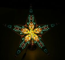 Sternenlicht Papierstern Weihnachtsstern Adventsstern Leuchtstern Faltstern #41