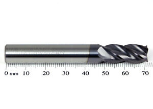 10mm M.A. FORD TuffCut 177 XR 4 Flute Solid Carbide Coated End Mill 177 1000A