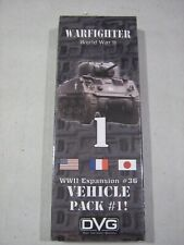Warfighter WWII: Vehicle Pack 1 (New)