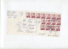 N°9384  /   15 timbres oblitérés ,15  cts  Oliver Wendell Holmes   1980 ?????