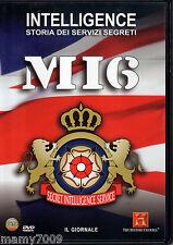 DVD=MI6=INTELLIGENCE STORIA DEI SERVIZI SEGRETI=