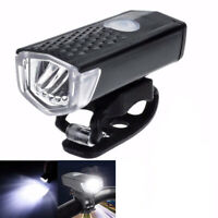 Universal USB Rechargeable Bike Bicycle Light Bright 3Mode Head Taillight Lamp