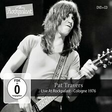 PAT TRAVERS - LIVE AT ROCKPALAST-COLOGNE 1976  CD+DVD NEW+