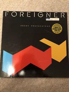 FOREIGNER - AGENT PROVOCATEUR - VINYL ALBUM / LP
