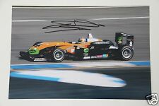 Sam Bird signed 20x30cm Foto Autogramm / Autograph In Person Car Driver ...