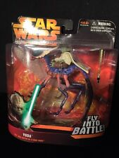 """Star Wars """"Yoda Fly Into Battle On A Can-Cell"""" Revenge Of The Sith-Brand New!"""