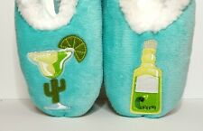 Snoozies slippers Women's Size Medium 7-8 Simply Pairables Turquoise Margarita