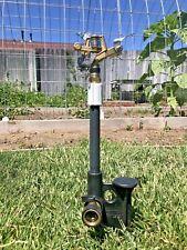 Incredible Impact Sprinkler Spike & Vyrsa 50 Very Adjustable For Custom Coverage