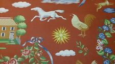"""LEE JOFA """"UP COUNTRY"""" FABRIC LINEN BLIND CUSHION CURTAIN MATERIAL PER METRE"""