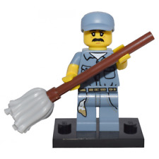 Lego Figure Janitor, Series 15 - col15-9