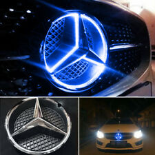 Blue Grille Grill Star Emblem For Mercedes Benz 2011-2015 Illuminated LED Light