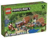 LEGO 21128 Minecraft The Village 21137 brand new sealed rare & retired