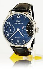 IWC Portuguese Portugieser Chronograph 7 Tage Gangreserve IW500109 Full Set