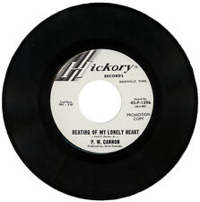 """P. W. CANNON  """"BEATING OF MY LONELY HEART""""   DEMO   NORTHERN SOUL  LISTEN"""""""