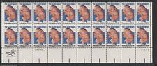 US #2012 20c Plate Block of 20 1982 The Barrymores Performing Arts Actor  MNH