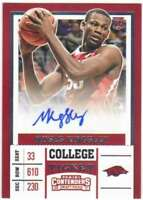 2017-18 Contenders Draft Picks College Ticket RC AUTO #98 Moses Kinglsey