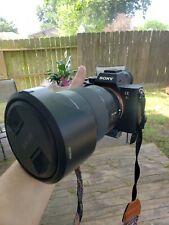 sony a7r iii with lens