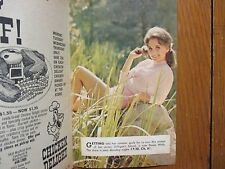 1967 Cleveland Press TV Mag(DAWN  WELLS/DAN BLOCKER/LORNE GREENE/MICHAEL LANDON)