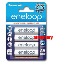 Panasonic Eneloop 2000mAh AA Rechargeable Recharge Battery BK-3MCCE/4BE JAPAN