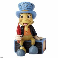 Disney Traditions Jiminy Cricket Sitting Mini Figurine Ornament 7cm 4054286
