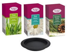 Kratki Aromatherapie Set 3 für Biokamine   3 x Duftöl + Duftschale