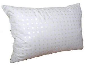 Pillows down.. Medium.100% down, 100% cotton