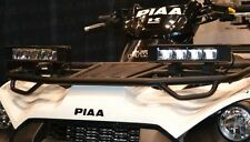 PIAA RF6 6000K 16W Hybrid Fog Driving LED Light Bar Kit for Kawasaki Brute Force