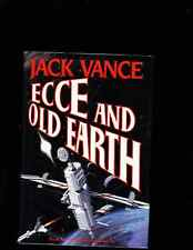 JACK VANCE ECCE AND OLD EARTH SIGNED IST ED. HB