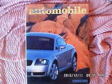 LIVRE L'ANNEE AUTOMOBILE 1998/1999   d93