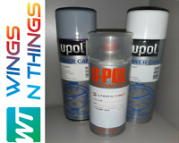 UPOL AEROSOL PAINT PRIMER LACQUER REPAIR KIT FOR VOLVO SILVER 426