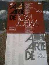 TOM JOBIM - A ARTE DE TOM JOBIM 2X LP + INSERT!!! FONTANA BRAZIL REMASTERED