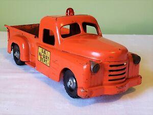 Structo Toys International Harvester Cab U.S. HI-WAY DEPT. PICK-UP TRUCK 50's