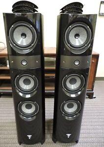 Focal Electra 1028 BE 3-Way Bass Reflex Floorstanding Speakers (Black Ash)