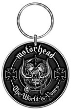 Motorhead Standard Keychain the World Is Yours