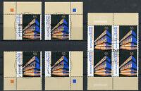 Bund 2625 Eckrand o. VB Viererblock gestempelt Vollstempel Berlin ETSST BRD 2007