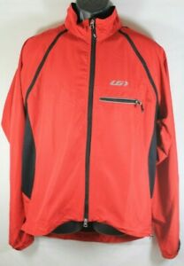 Louis Garneau Electra Flex Cycling Jacket Size Large Red NWT