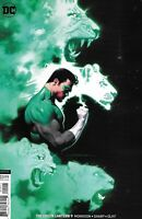 Green Lantern Comic Issue 9 Limited Variant Modern Age First Print 2019 Sharp DC