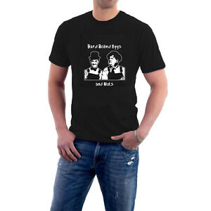 Laurel & Hardy T-shirt Hard Boiled Eggs and Nuts tee. Sillytees