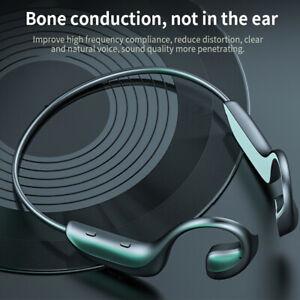 Wireless Bluetooth 5.0 Bone Conduction Headset Sport Stereo Headphones Ear-hook