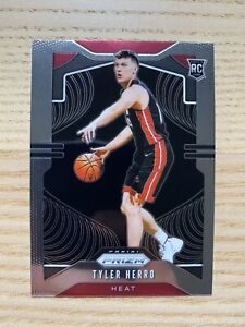 2019/20 Panini Prizm Tyler Herro RC Rookie Card #259 Miami Heat! 🔥 *READ*