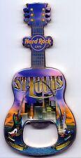 Hard Rock Cafe ST.LOUIS  V8 City T-Shirt Guitar Bottle Opener Magnet