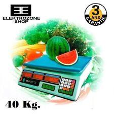 Balance prix/poids professionnelle rechargeable 40kg - GARANTIE 3 ANS