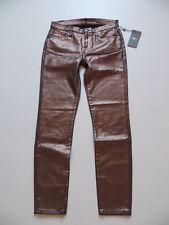 7 For All Mankind Jeans Hose, W 26 (27), NEU ! Bronze farbene Skinny Jeggings !